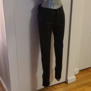 Burberry Brit 6 leather pants